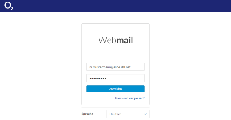 Alice Webmail Login