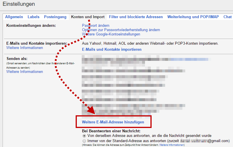 Anleitung Gmail Mit Eigener Domain Nutzen Maildienste