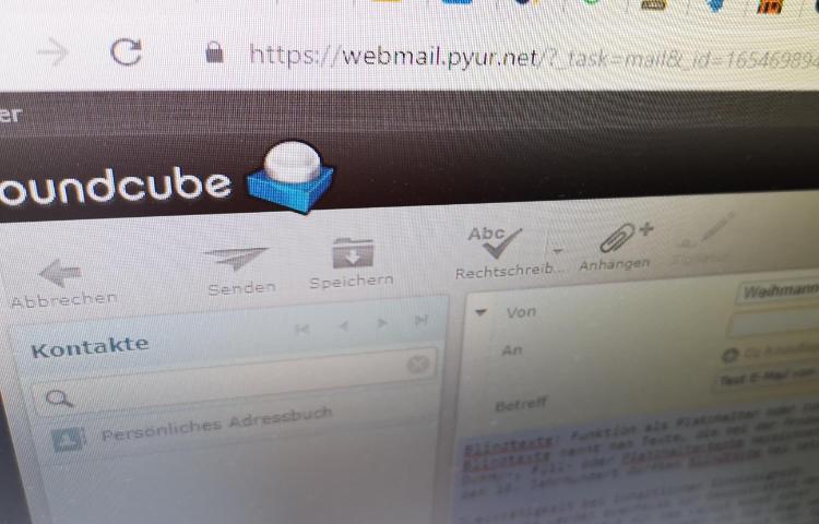 Pyur - Tele Columbus Webmailer