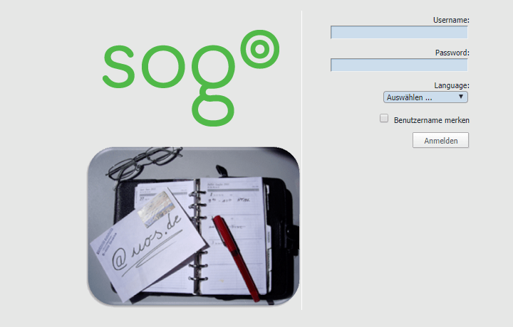 Webmail Login an der Uni Koblenz-Landau (SOGo)