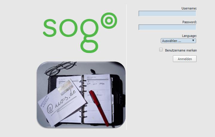 Webmail Login an der Uni Osnabrück (SOGo)