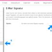 t-Online – E-Mail Signatur anlegen