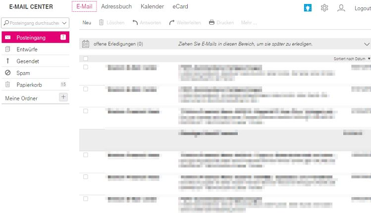 T-Online Webmail