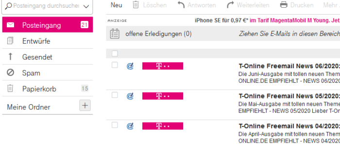 T-Online Webmail Login 🥉 Maildienste