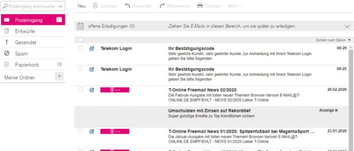 Telekom E Mail Registrieren