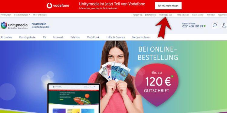 Unitymedia Startseite